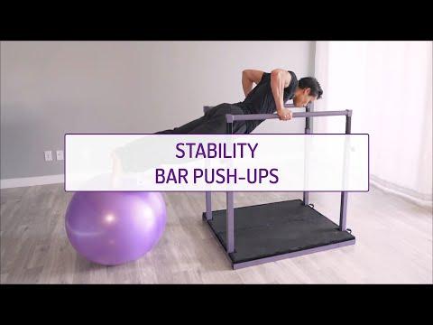Stability Bar Push-Ups