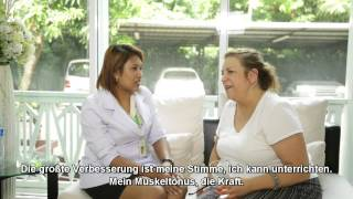 Mia, Primäre Lateralsklerose | Stammzellenbehandlungsbericht