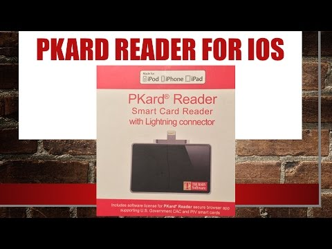 Pkard Smart Card Reader for IOS Review