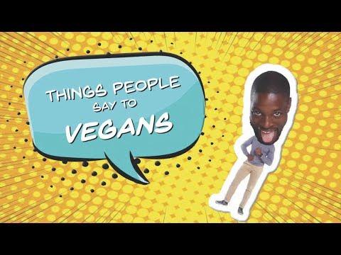 Things People Say To Vegans - @PreacherLawson