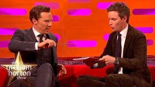 Eddie Redmayne and Benedict Cumberbatch Do Magic Tricks - The Graham Norton Show