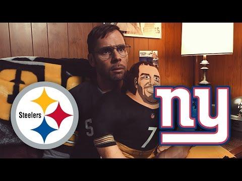 Dad Reacts to Steelers vs Giants (Week 13)