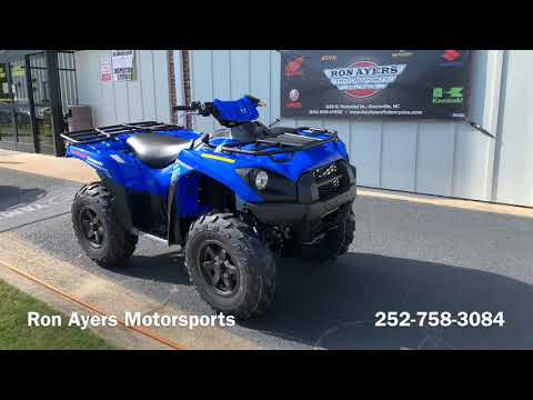 2020 Kawasaki Brute Force 750 4x4i EPS in Greenville, North Carolina - Video 1