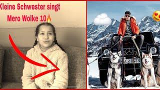 Kleine Schwester Singt 😍 Mero   Wolke 10 (Cover)