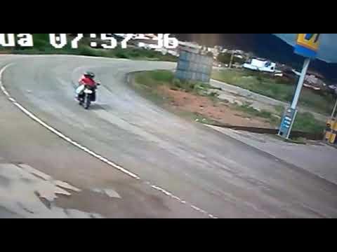 Flagrante de acidente em Almenara MG
