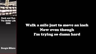 3 Doors Down - Duck and Run with Lyrics on Screen