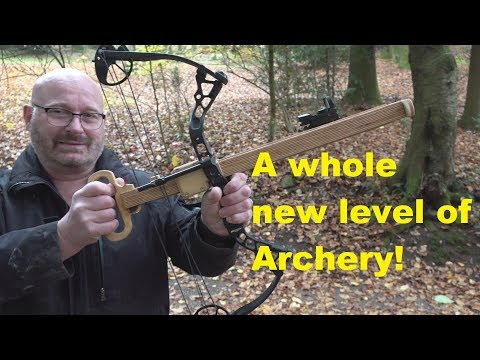 Guy from The Slingshot Channel invents new revolutionary repeating bow.