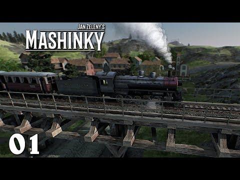 Mashinky EA ➤ 01 ➤ První vlaky pro cestující [CZ LP]