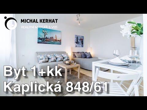 Prodej bytu 1+kk 35 m2 Kaplická, Praha Podolí