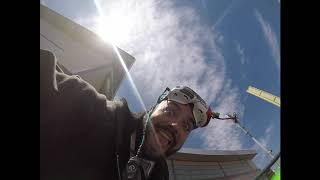 Parachute drop/cyclones stadium/cyclone roller coaster Fpv Freestylee;