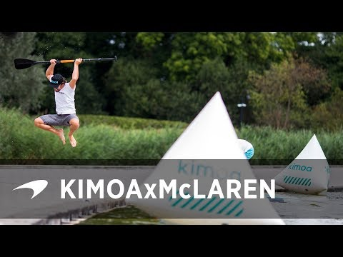 Kimoa, McLaren and one extraordinary paddle board race