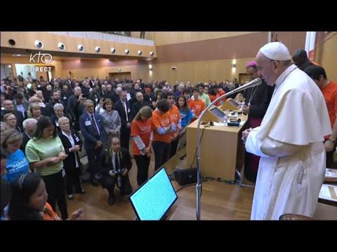 Synode 2018 : le pape François rencontre les jeunes et les personnes âgées