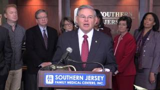 Menendez: GOP Plan to Repeal ACA is Cruel, Must be Defeated