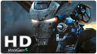 AVENGERS 4 Endgame - Ronin & War Machine Suits (2019) Marvel Superhero Movie HD