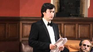 Pavel Khodorkovsky - Oxford Union Debate on Russia