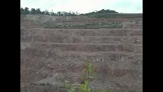 preview picture of video 'Blasting at Mountsorrel Quarry'
