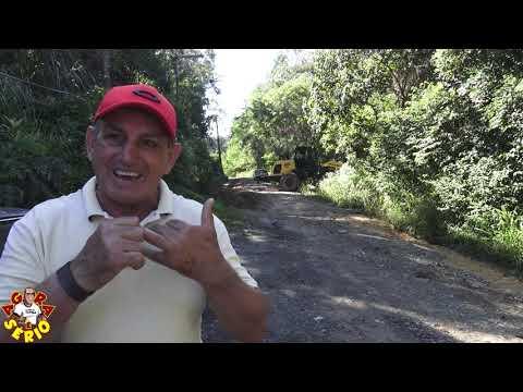Prefeito Ayres Scorsatto fala sobre as estradas de Juquitiba e a manutenção na Estrada do Soturno Bairro da Palmeira