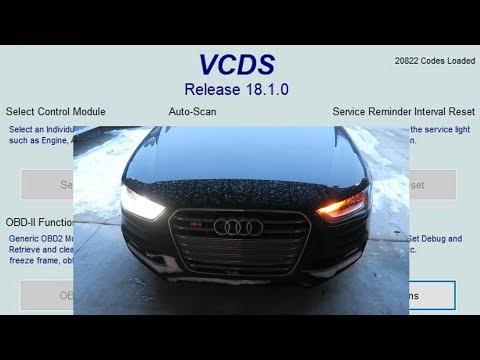 How To Do VAGCOM Audi Mods!