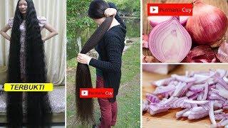 Cara Cepat Rambut Tumbuh Panjang & Tebal Hanya Dengan Bawang Merah