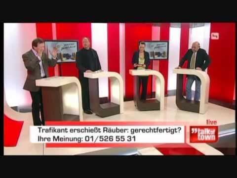 Part 3: Dr. Georg Zakrajsek zum Thema Waffengebrauch bei Puls4 am 05.01.2010