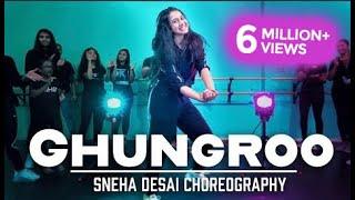 Ghungroo | War | Hrithik Roshan | Sneha Desai Choreography