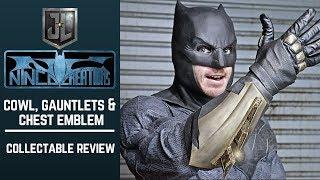 Batfleck Cosplay Update: John Ninco Cowl, Gauntlets & Emblem- Collectable Review!