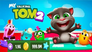 My Talking Tom 2 HD Gameplay (Unlimited Coins MOD)