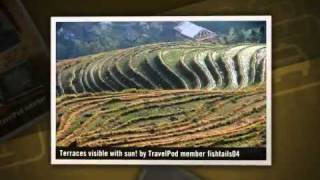 preview picture of video 'On the Dragon's Back Fishtails04's photos around Dazhai, China (dazhai guilin guangxi china)'