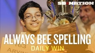 The Spelling Bee on ESPN: better than Skip Bayless - The Daily Win thumbnail