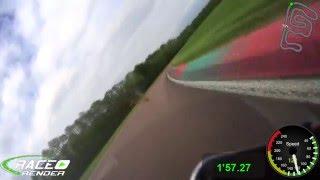 ➊ lap Ecuyers onboard Kawasaki ZX6RR 1.56.69 roulage piste moto