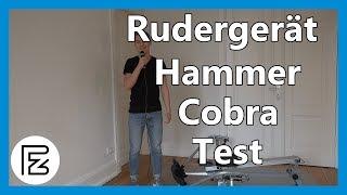 Rudergerät HAMMER COBRA ROWER im TEST