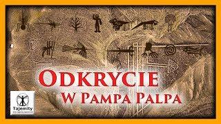 Odkrycie w Pampa Palpa.Niewielu ludzi wie, że płaskowyż Nazca nie jest jedynym kompleksem z gigantycznymi obrazami w Peru