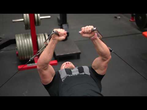 How to do a Cable Bench Press | Tiger Fitness
