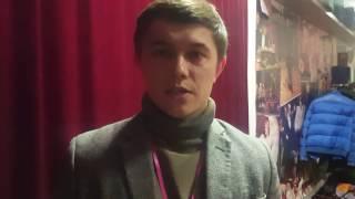 Отзыв Льва Лазарева о прохождении тренинга (артист, Москва)