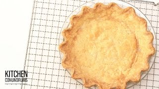The Trick to a Perfectly Baked Pie Shell - Kitchen Conundrums with Thomas Joseph