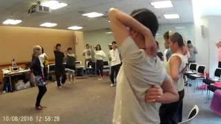 Thoracic Lift With Movement - the final piece.
