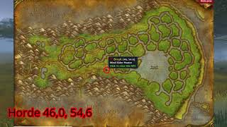 Swamp of Sorrows Flight Master Location WoW Classic