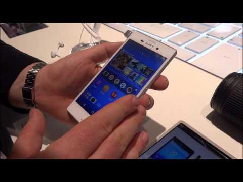 Sony Xperia M4 Aqua, video anteprima