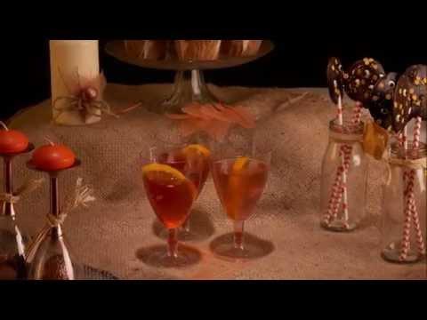 Halloween Cocktail Herfst Spritz
