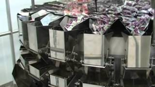 Yamato Scale, Multihead weigher / Mehrkopfwaage , 4-mix for the confectionary industry