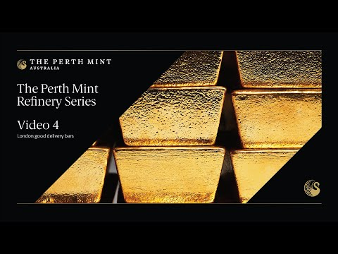 Perth Mint London Good Delivery Bars