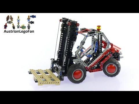 Vidéo LEGO Technic 8416 : Le chariot élévateur