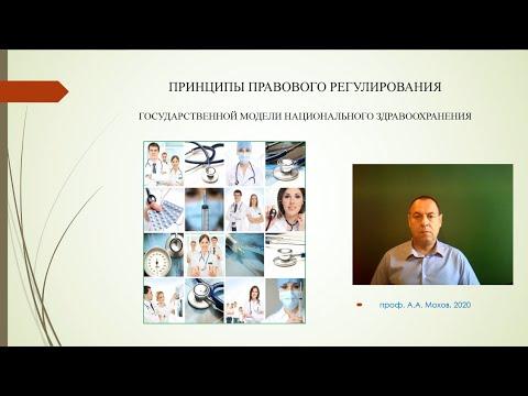 Принципы правового регулирования государственной модели национального здравоохранения - А.А. Мохов