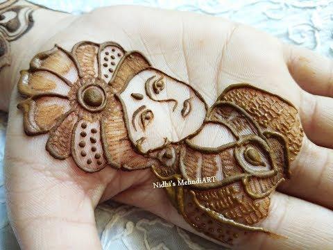 beautiful bridal mehndi design groom face tutorials by nidhi