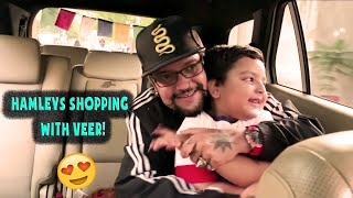 Shopping at Hamley's with Veer!
