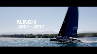 Team Alinghi: Video celebrates 10th anniversary of their 2007 AC win; is it a launch video for AC36?