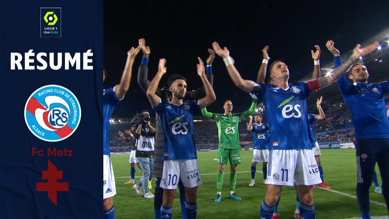 RC STRASBOURG ALSACE - FC METZ (3 - 0) - Résumé - (RCSA - FCM) / 2021/2022