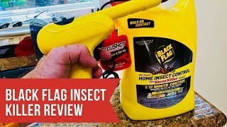 Black Flag Insect Killer Review Video And Demonstration