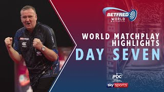 2020 Betfred World Matchplay Highlights | Day Seven