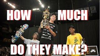 How Much Do Pro Skaters Make?    @SkateInformant